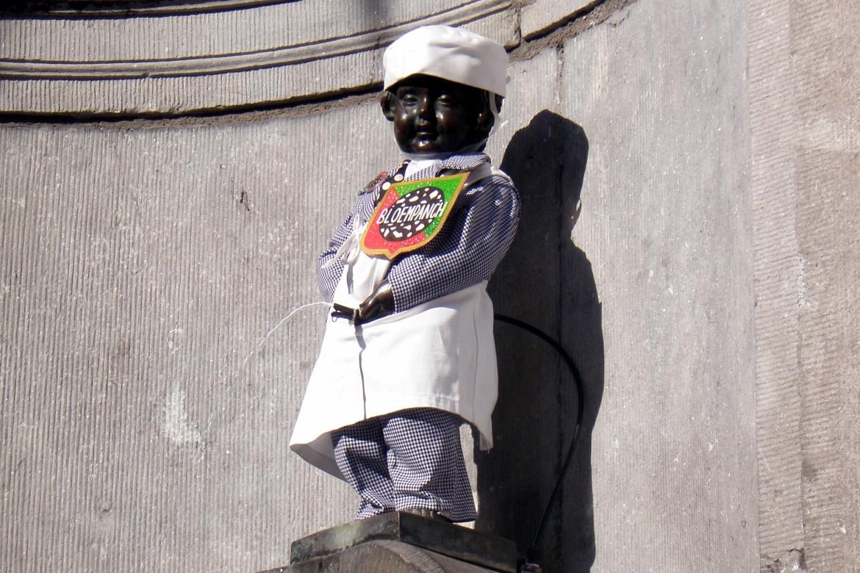 Stedentrip Brussel Bezienswaardigheden Manneken Pis - Reisvlinder.nl