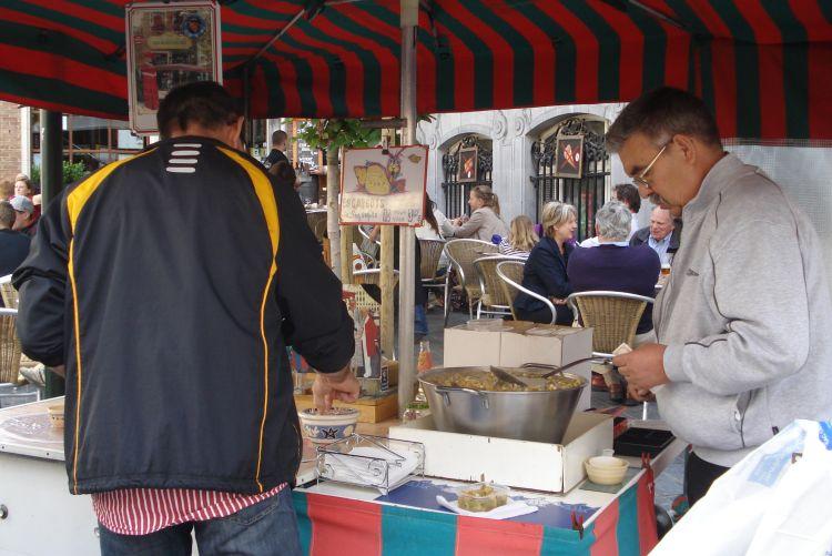Zien en doen in Brussel escargots eten