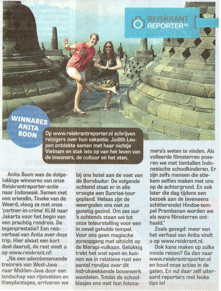 Reis winnen Java Indonesie