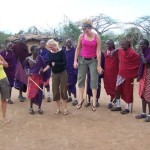 Photo Flashback: de Masai jump in Kenia
