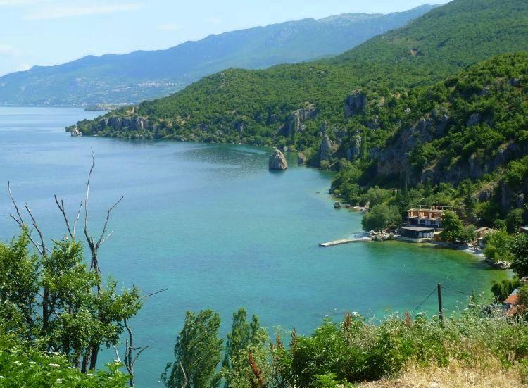 Vakantie Macedonie - meer van Ohrid
