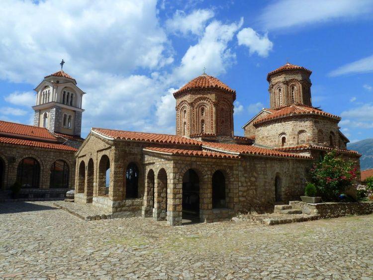 Vakantie Macedonie - Klooster van St.Naum - Reisvlinder.nl