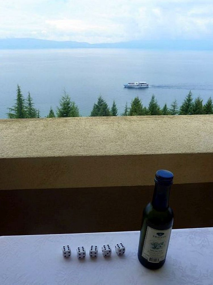 Vakantie Macedonie - meer van Ohrid - Reisvlinder.nl