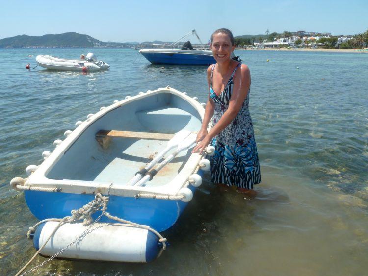 vakantie pech in het water gevallen