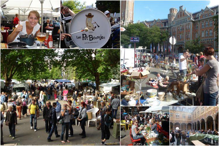 Evenementen buitenland - braderie Lille