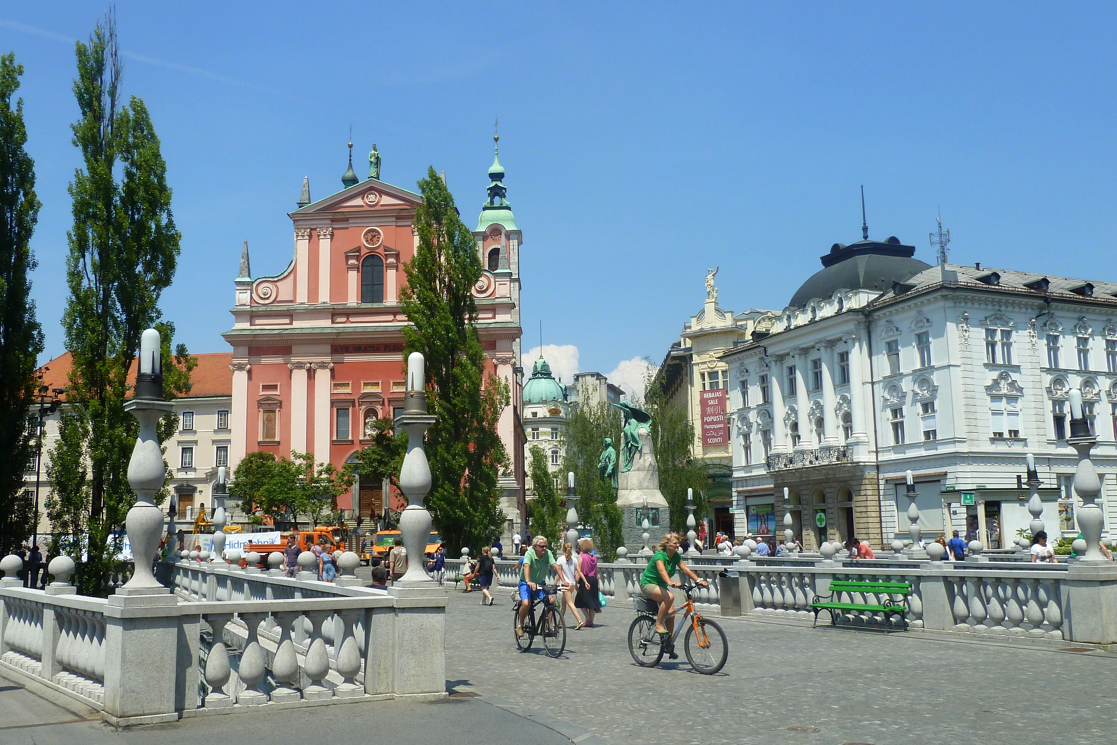 Stedentrips stad en natuur Ljubljana - Slovenie - Reisvlinder.nl