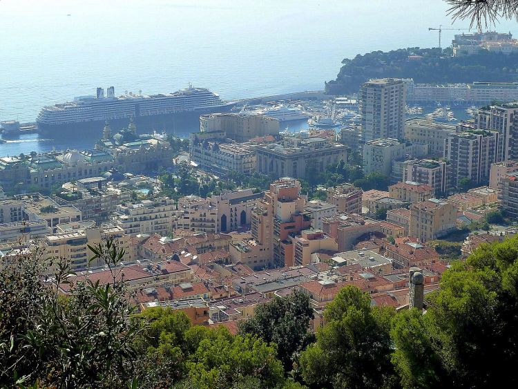 Monaco dagtrip - Uitzicht op Monaco
