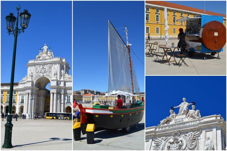 Stedentrip Lissabon bezienswaardigheden - Praça do Commercio - Reisvlinder.nl