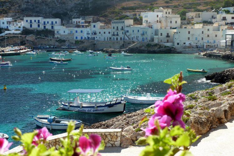 Egadische eilanden Trapani Sicilie