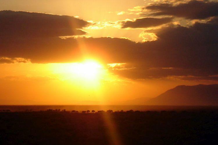 mooiste zonsondergangen - Kenia