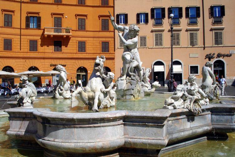 mooiste fonteinen van rome