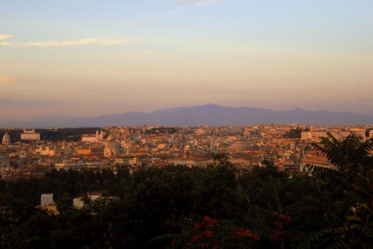 zien en doen in Rome - Gianicolo