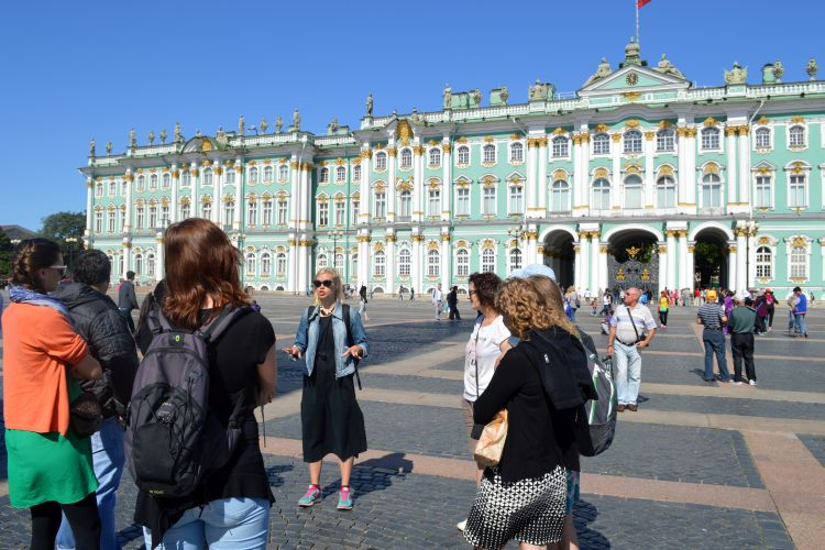 verslag stedentrip Sint-Petersburg