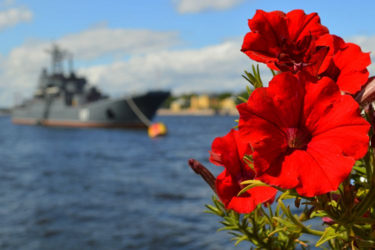 Russian Navy Day Sint Petersburg