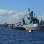 Russian Navy Day in Sint-Petersburg