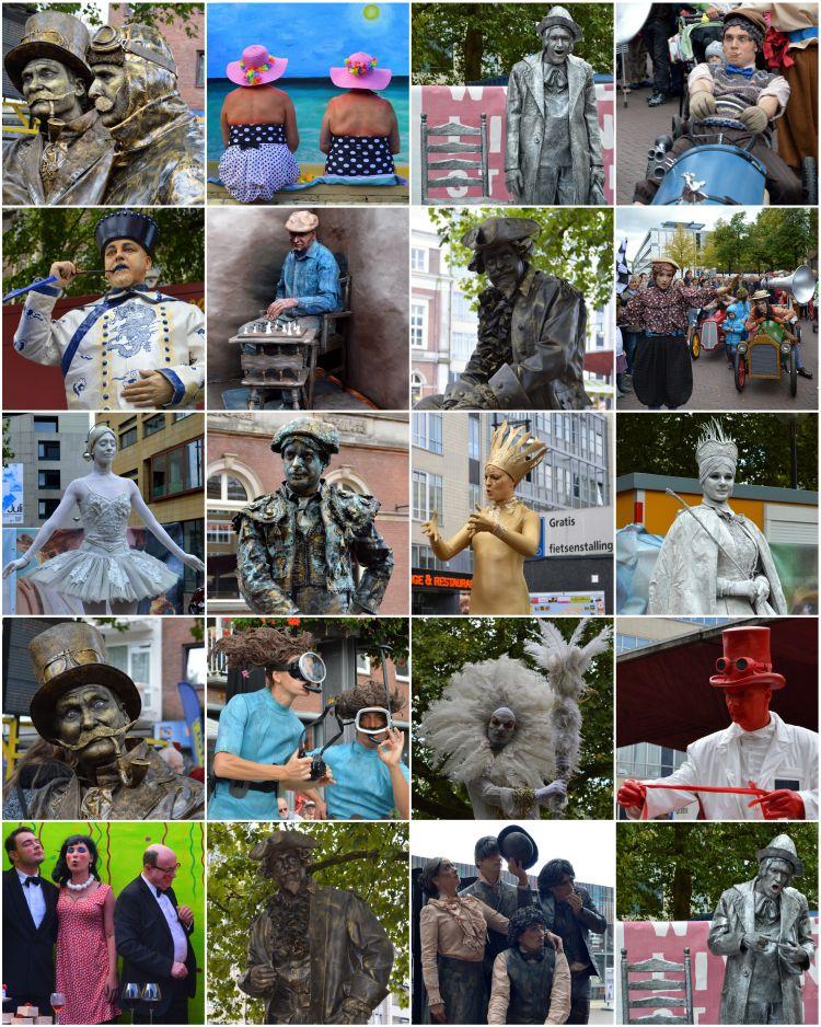 levende standbeelden festival