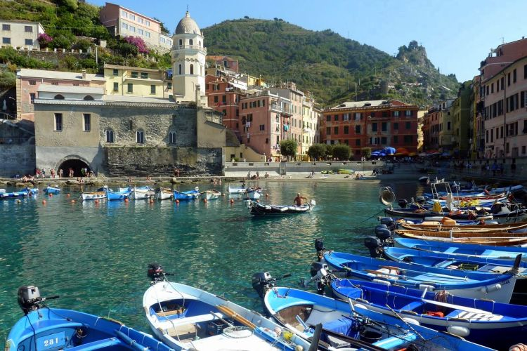 populairste blogs: dorpjes cinque terre