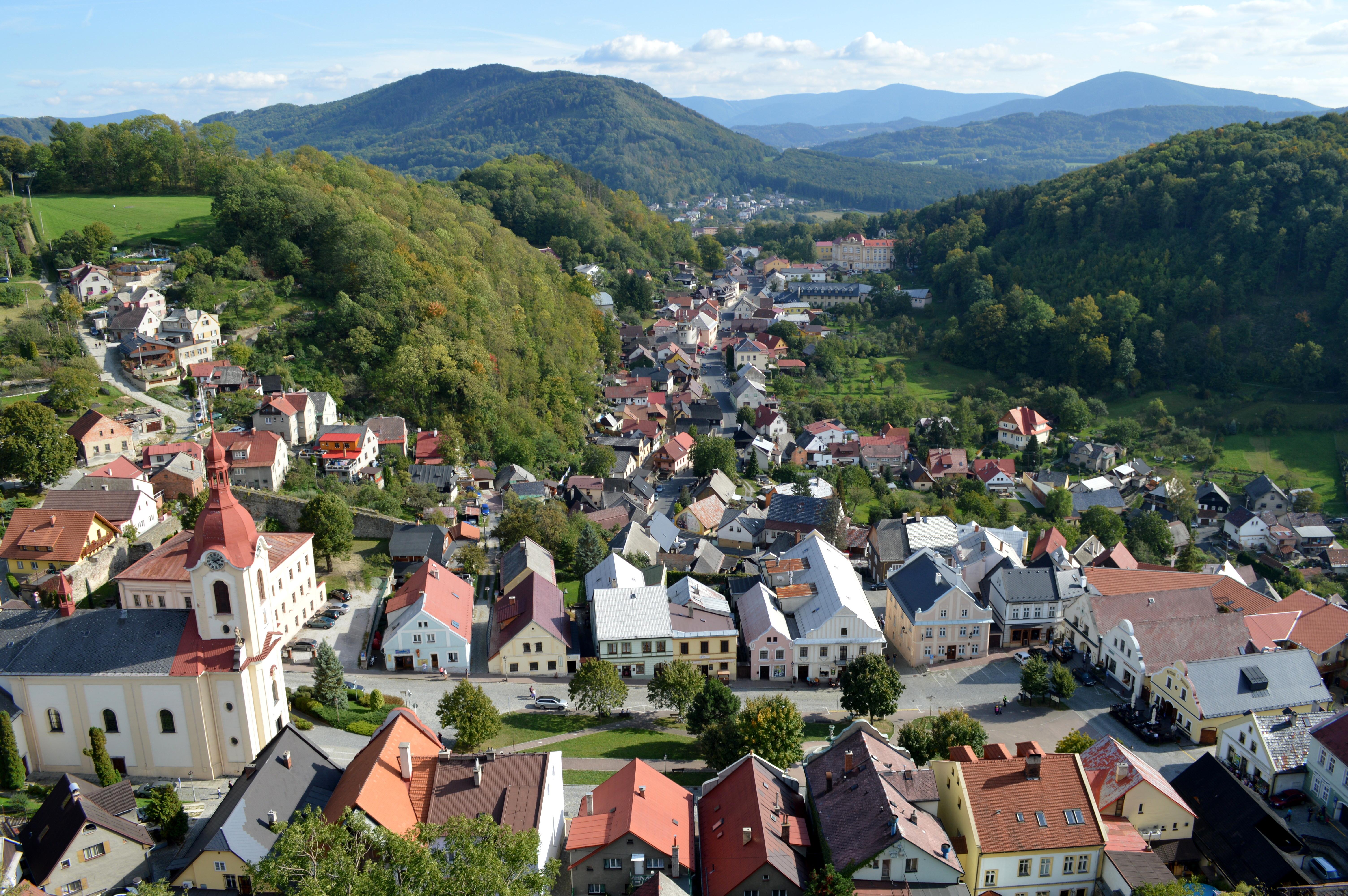 dorpjes van moravie tsjechie