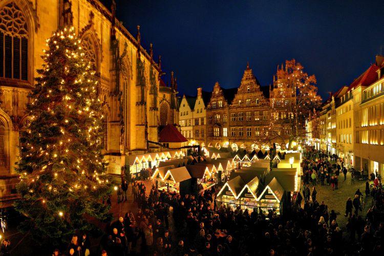 stedentrips in kerstsfeer