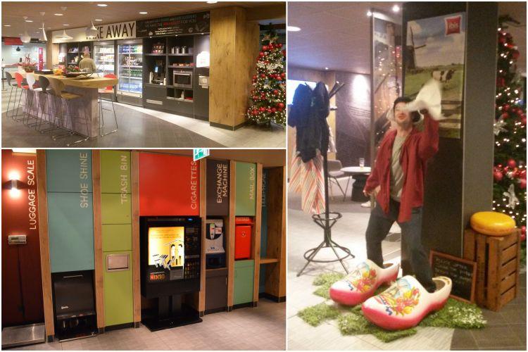 goedkoop overnachten Schiphol Ibis Hotel