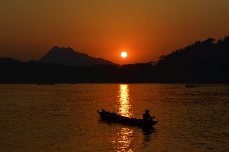 reisverslag laos - luang prabang
