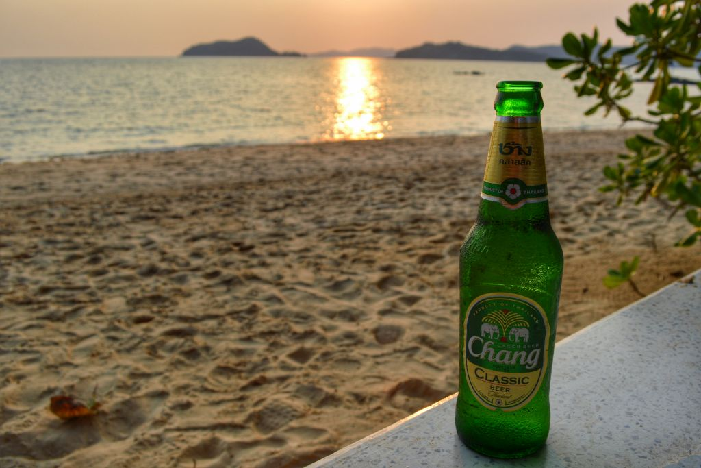 koh mak thailand zonsondergang