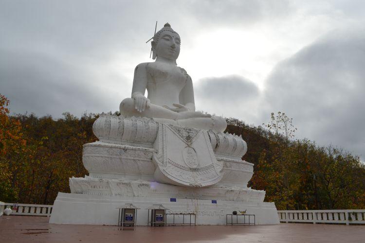 witte reisfoto's Pai Thailand