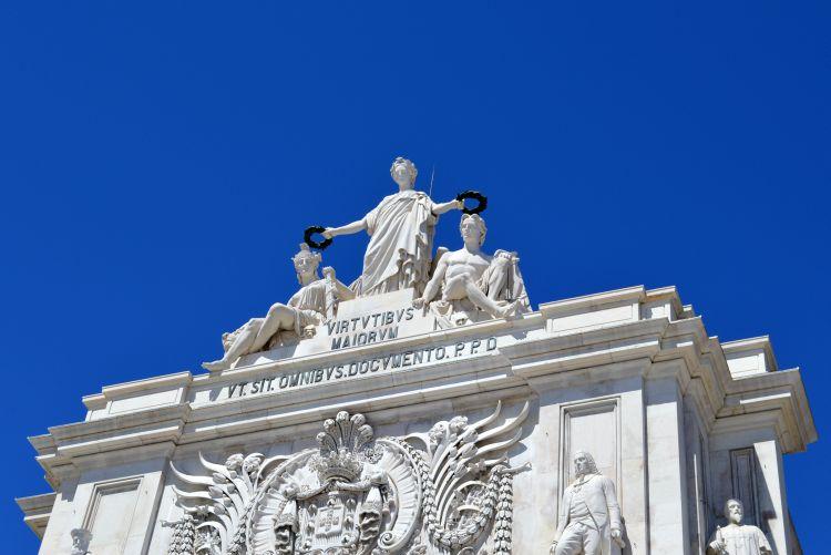 witte reisfoto's Lissabon