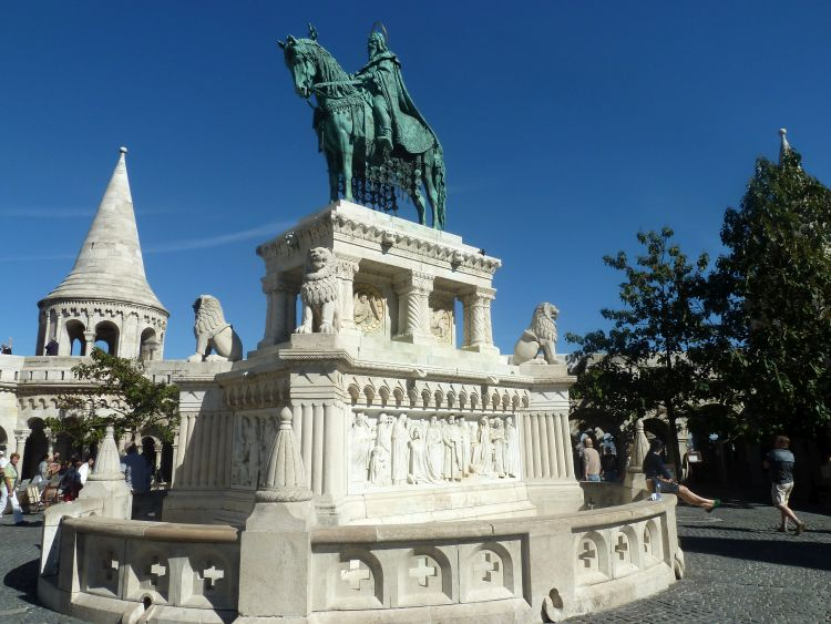 witte reisfoto's Boedapest