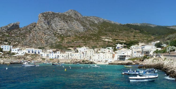 witte reisfoto's Sicilië