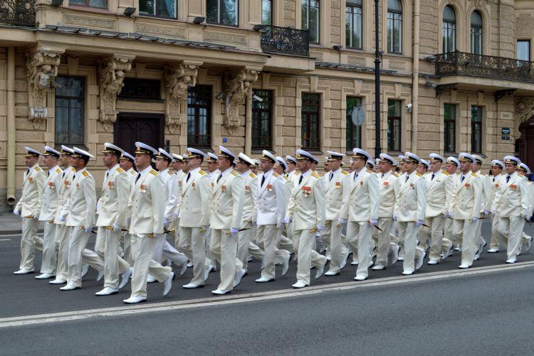 witte reisfoto's Sint Petersburg