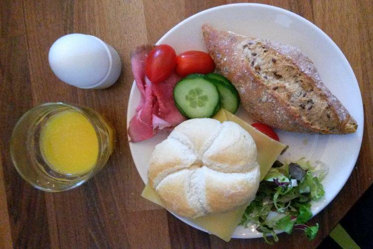 zaanse huisjes hotel - ontbijt
