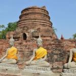 Thailand: de mooiste tempels van Ayutthaya in beeld
