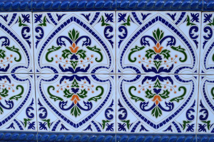 Volkswijk El Barrio Alicante - mozaiek