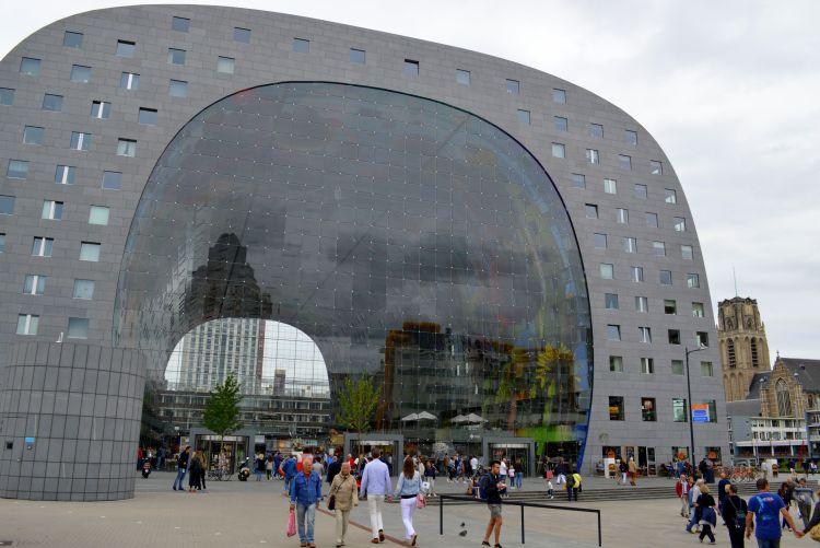 leukste steden pinksteren: markthal rotterdam