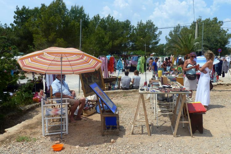roadtrip ibiza - vlooienmarkt