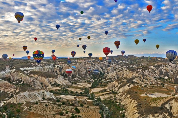 bucketlist avontuurlijke activiteiten ballonvaart