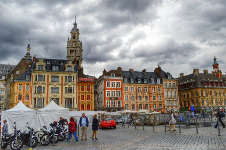 braderie lille - grand place