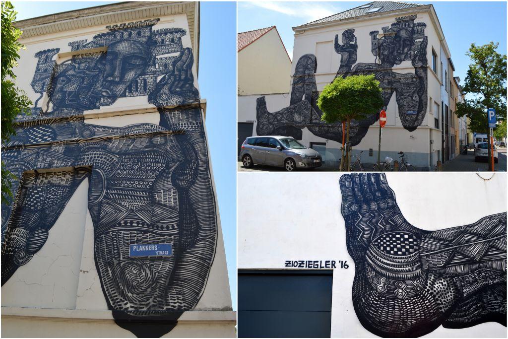 muurschilderingen streetart oostende