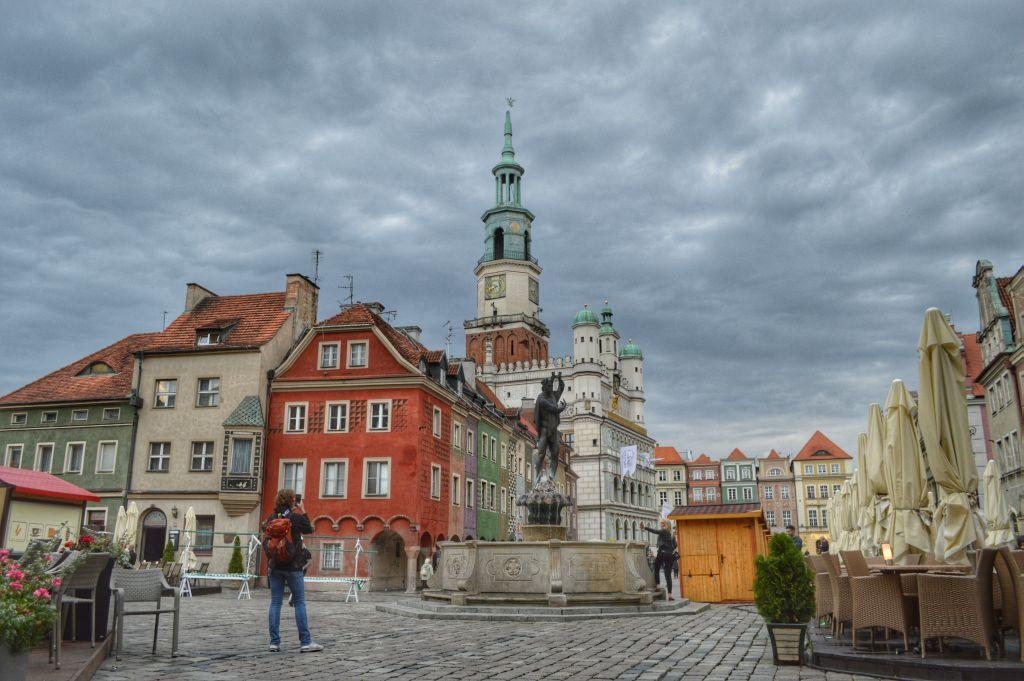 wat te doen in poznan - oude marktplein