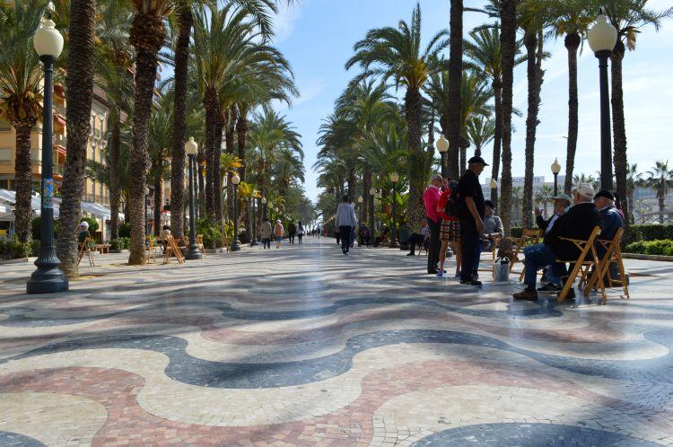 wat te doen in alicante - boulevard
