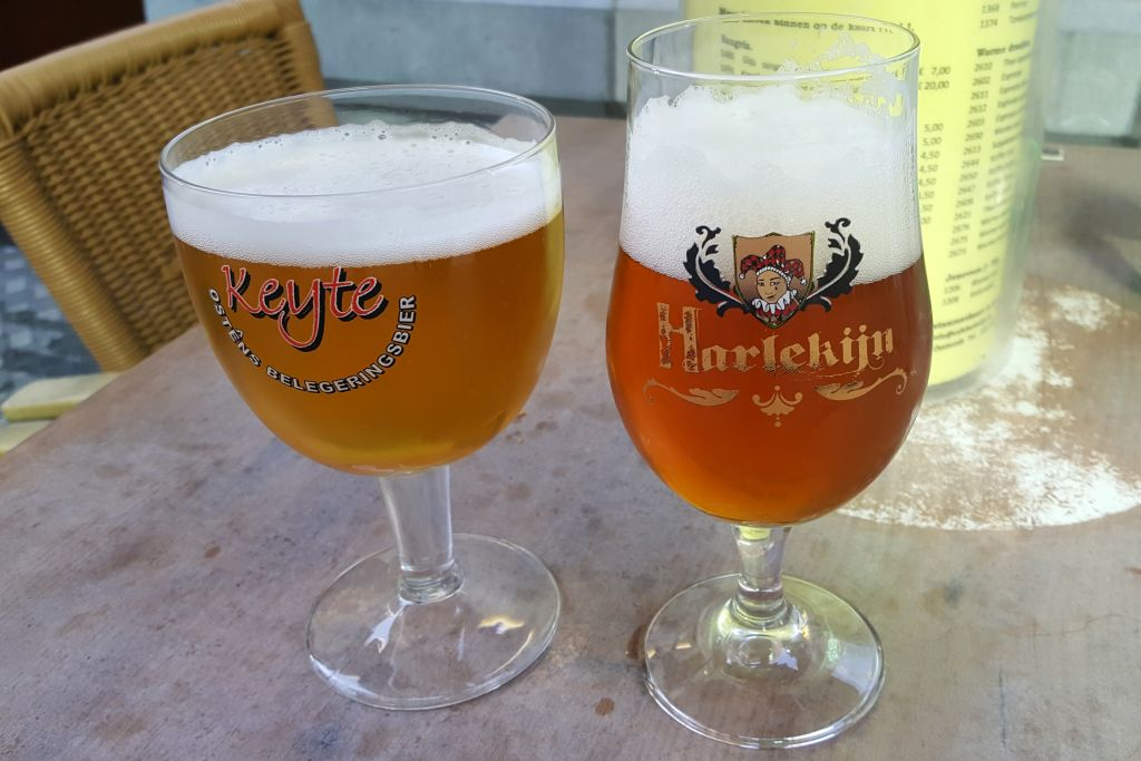 weekendje belgische kust - pintjes