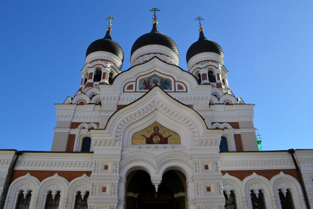 verslag stedentrip tallinn - Alexander Nevski kathedraal