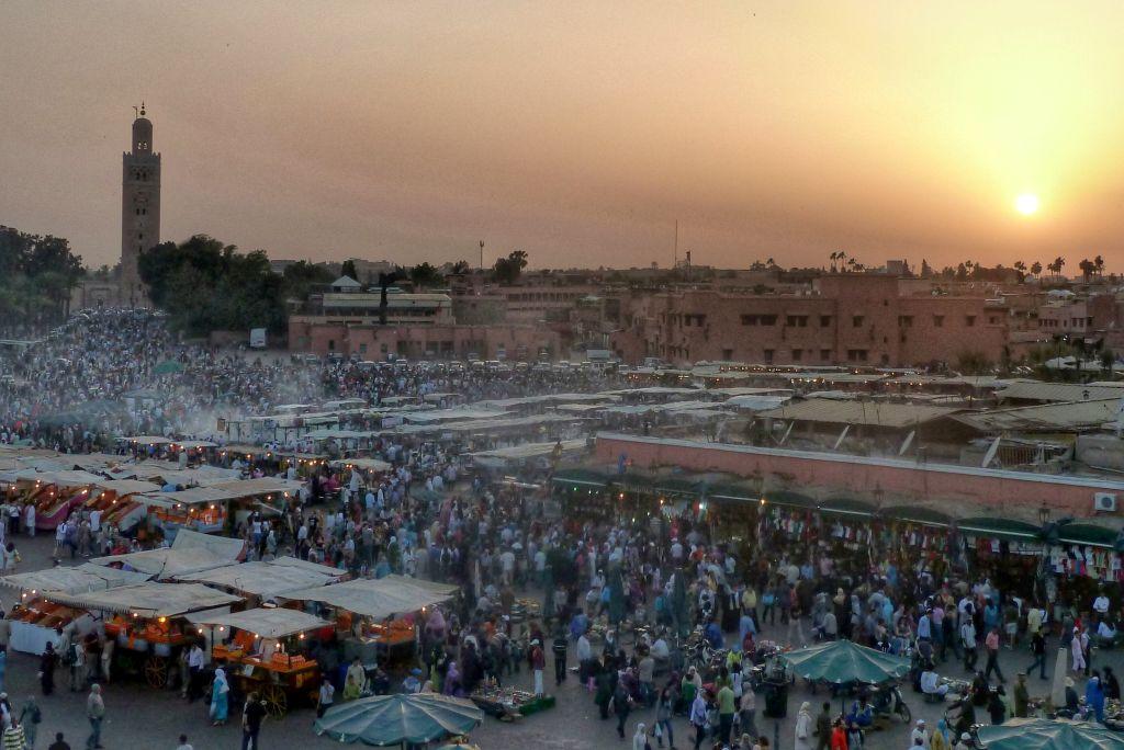 leuke stedentrips herfst - marrakech