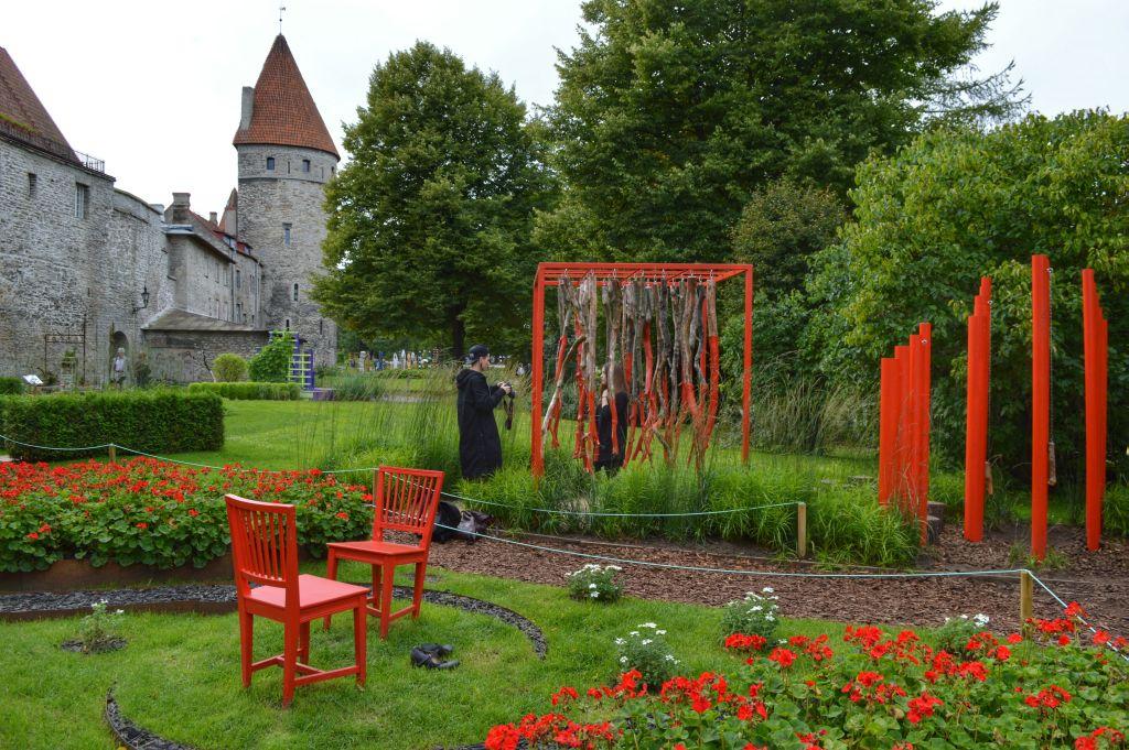verslag stedentrip tallinn - Torenplein - Flower Festival