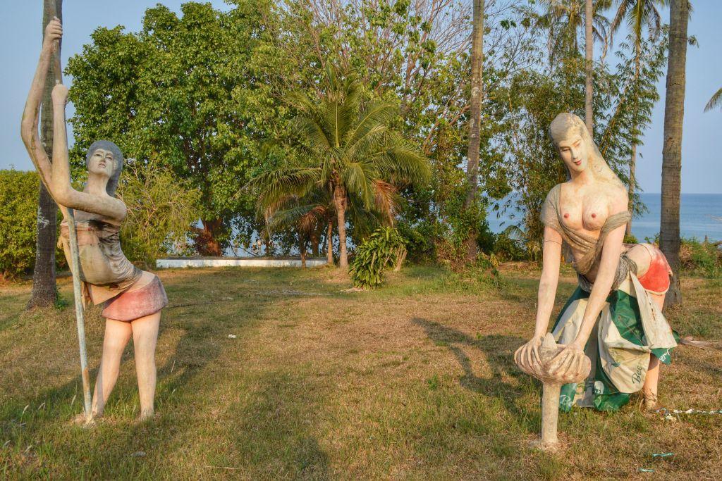 fietsen op koh mak - kingdom of Somchai
