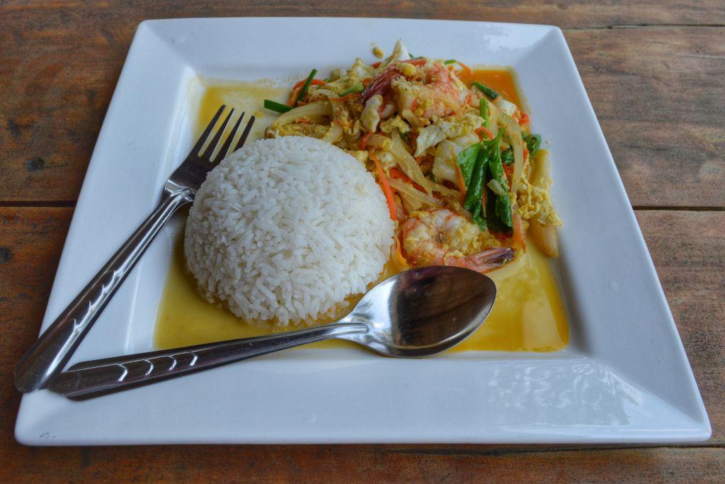 fietsen op koh mak thailand - curry green view resort