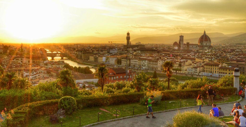 wat te doen in Florence - Piazzale Michelangelo