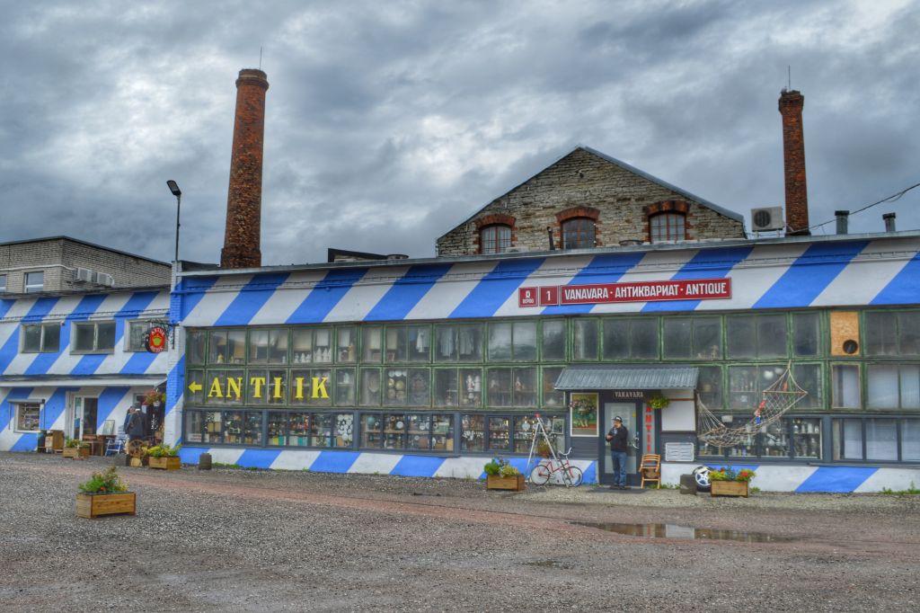 overdekte bezienswaardigheden Tallinn - balti Jaam market