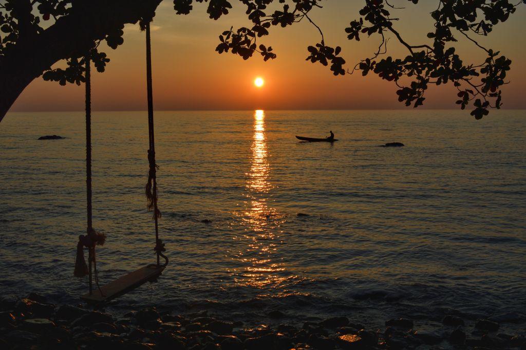 mooiste zonsondergangen - Thailand - Koh Chang